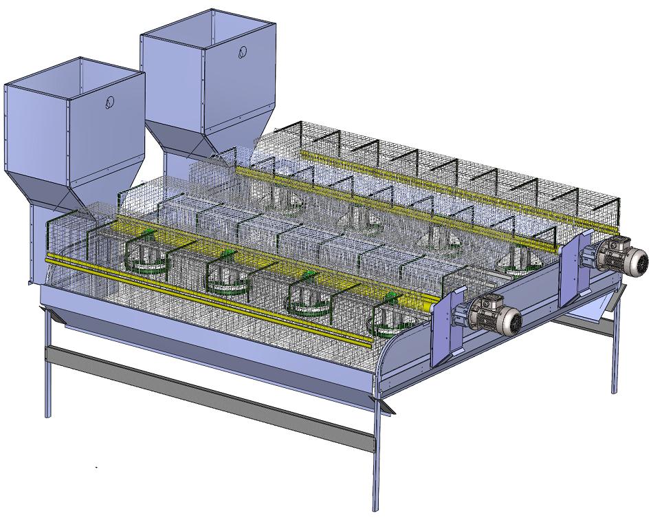 Module de cages C65LV